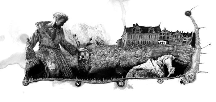 Владисла Єрко ілюстрація
